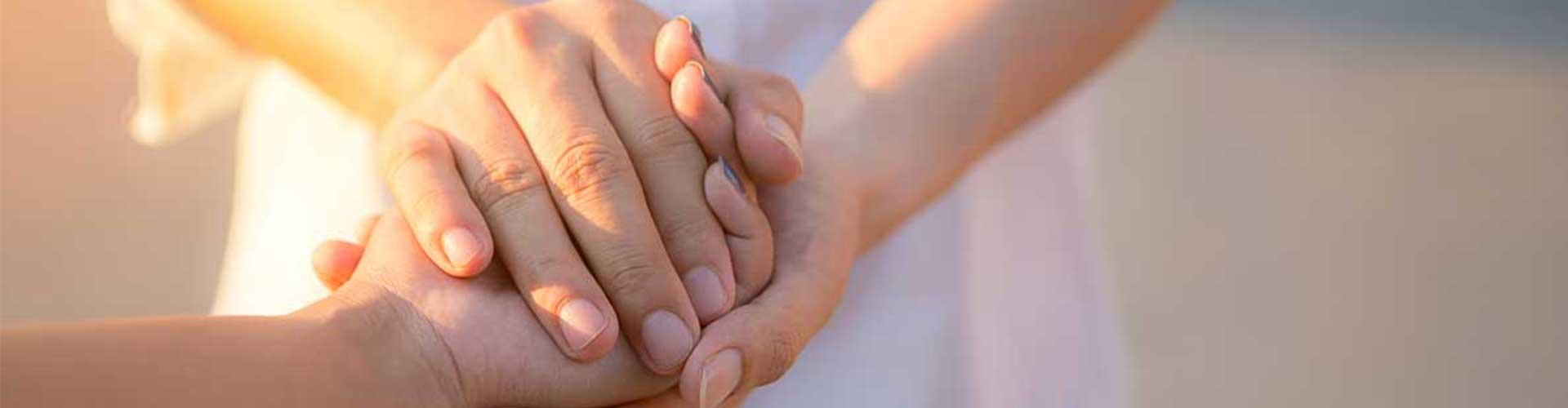 Man And Woman Holding Hands Closeup Billboard